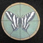 "Zebra Tiger Swallowtail 16"" diameter"