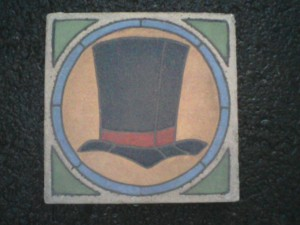 "Professors Hat 7"" square"