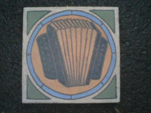 "Accordian 7"" square"