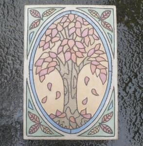 """Fall Tree 9""""x 13"""""""
