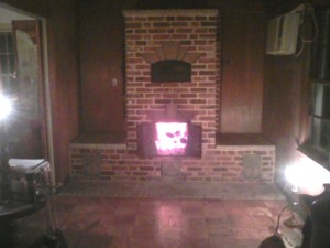 Masonry Heater built by Jon Madle, Home and Hearth Masonry