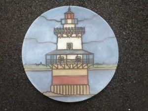 "Goose Rocks Light 16"" diameter"