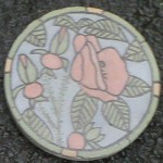 "Beach Rose 7.5"" diameter"