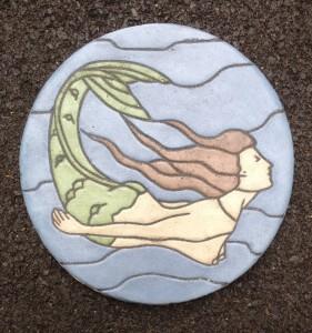 "Mermaid 12"" circle"