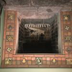 Mercer tile fireplace surround